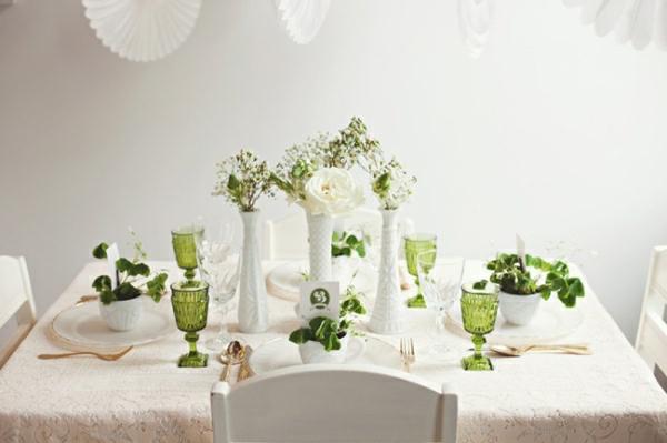 simple-blancge-et-vert-décoration