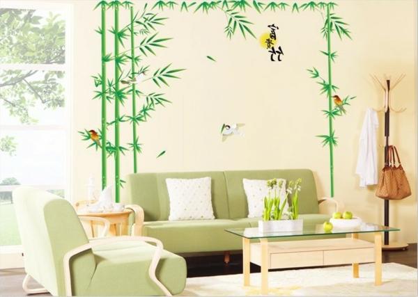sticker-bambou-dans-une-salle-de-séjour
