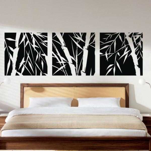 sticker-bambou-chambre-à-coucher