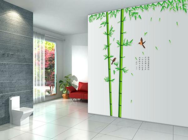 sticker-bambou-décoration-en-style-japonais