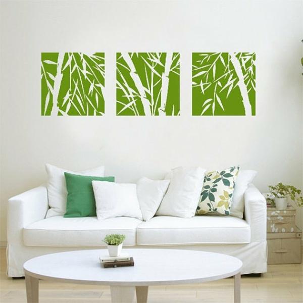 sticker-bambou-décoration-fraîche