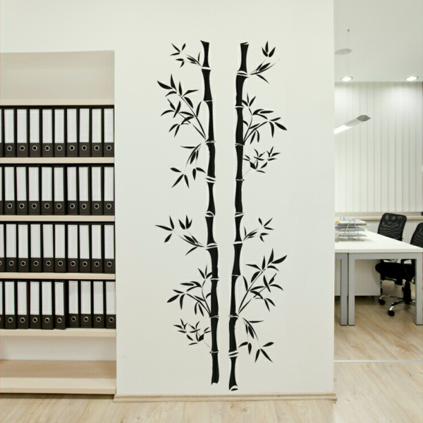 sticker-bambou-décoration-murale-pour-l'office