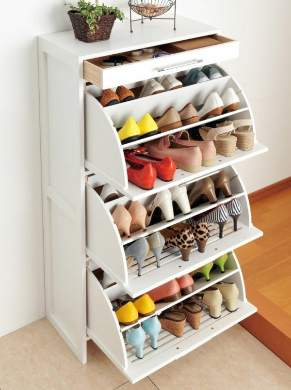 Designs d 39 armoire chaussure - Tiroir chaussures coulissant ...
