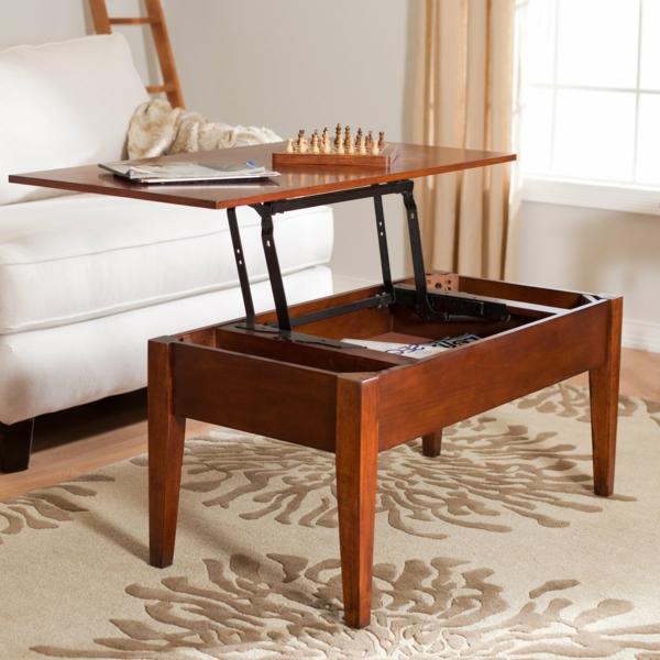 La table basse avec plateau relevable se soigne de vos activit s diff rentes - Table basse ajustable en hauteur ...
