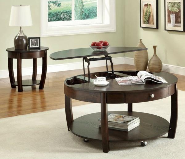 la table basse avec plateau relevable se soigne de vos. Black Bedroom Furniture Sets. Home Design Ideas