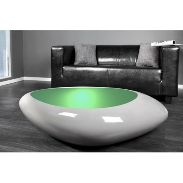 Table basse galet a led - Table basse a led ...