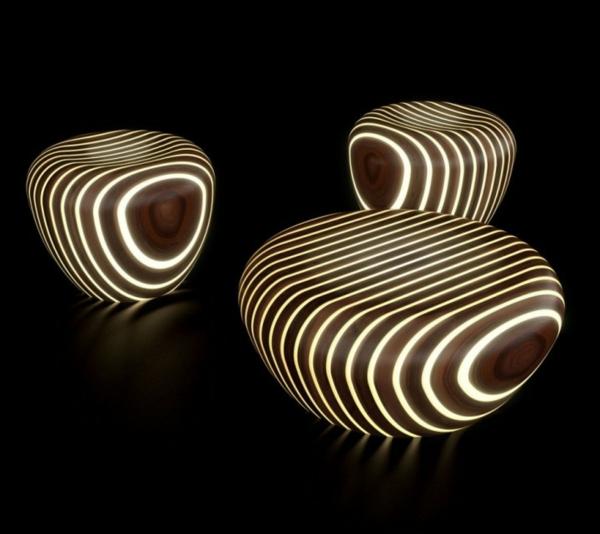 table-basse-lumineuse-rayures-illuminées