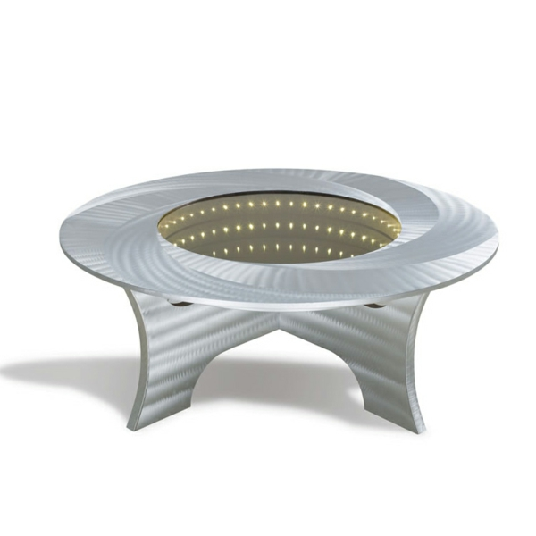 la table basse lumineuse illumine vos f tes et vos soir es. Black Bedroom Furniture Sets. Home Design Ideas