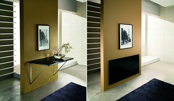 designs cr atifs de table pliante de cuisine. Black Bedroom Furniture Sets. Home Design Ideas
