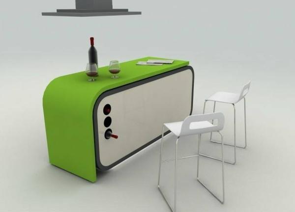 Designs créatifs de table pliante de cuisine - Archzine.fr