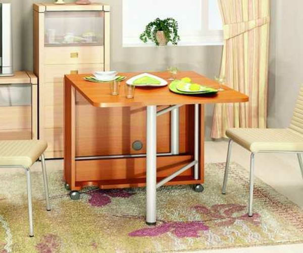 table-pliante-de-cuisine-table-moderne-en-bois