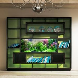 L' aquarium meuble dans la déco