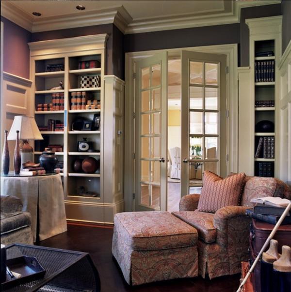 portes-intérieures-vitrées-buffet-avec-vitrine