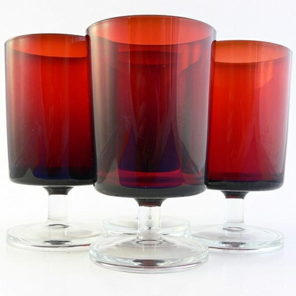 verre-luminarc-verres-rouges-cylindriques