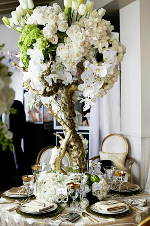 vintage-décoration-floral-de-mariage