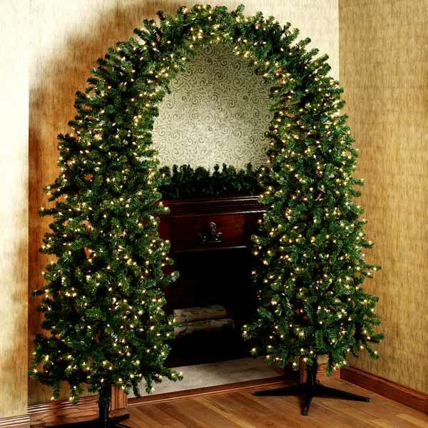 élégante-décoration-de-noel-pour-la-cheminée