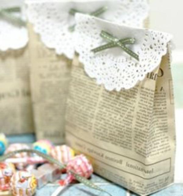 Cool id es pour vintage d co de mariage - Petit sac en papier pour mariage ...