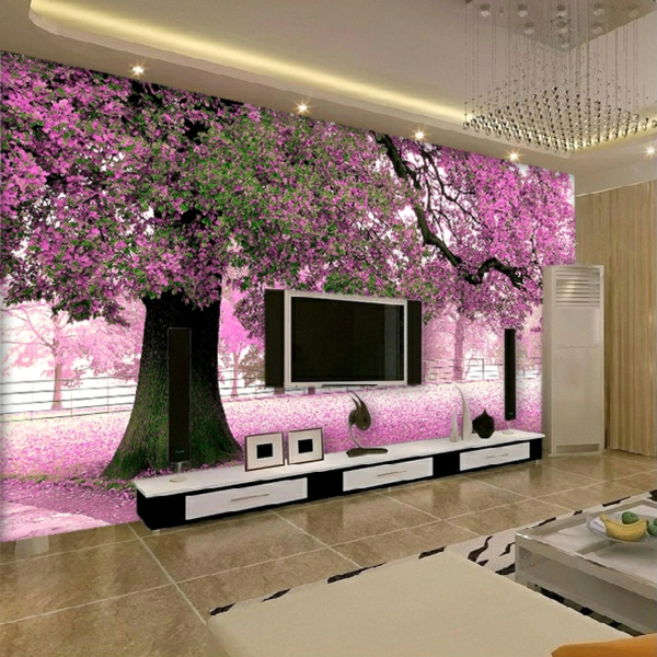 Furniture-mural-cherry-tree-living-room-background-wall-bedroom-wallpaper-resized