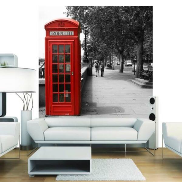 une-classique-entre-des-poster-mural-avec-une-cabine-de-telephon-de-Londre