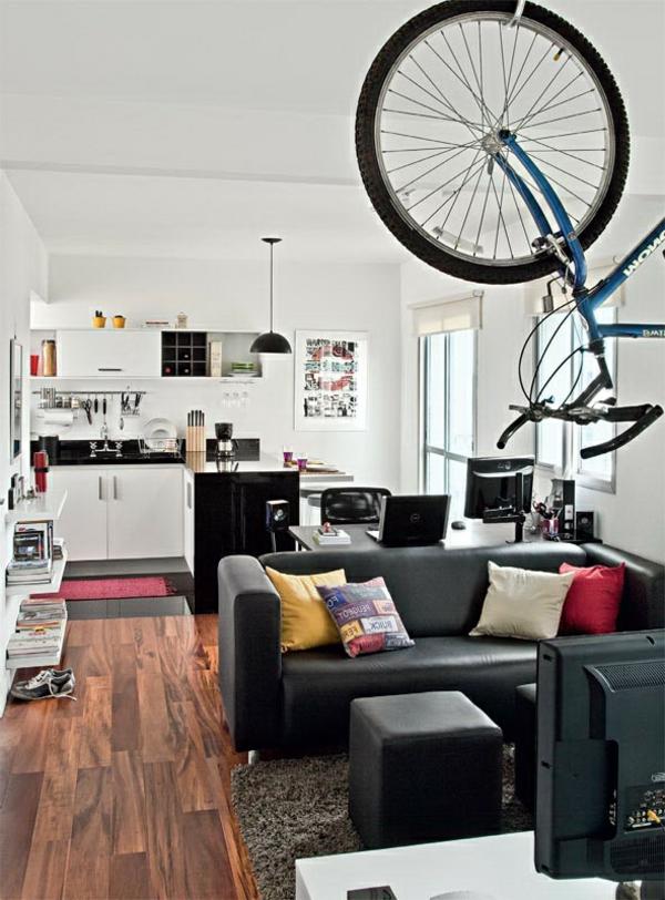 appartement-arrangement-avec-un-vélo