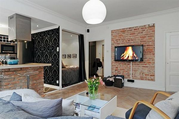 Arrangement et ameublement pour votre petite maison l idée de déco pour studio peut être super moderne