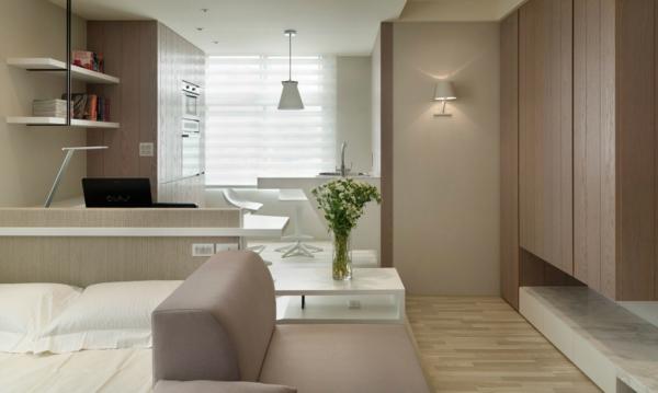 L 39 id e de d co pour studio peut tre super moderne for Decoration petit appartement idee