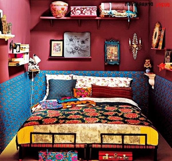 bohem-décoration-pour-la-chambre-à-coucher