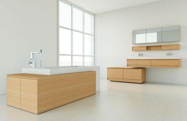 bois-et-blanc-pour-le-bain-et-décoration-unique