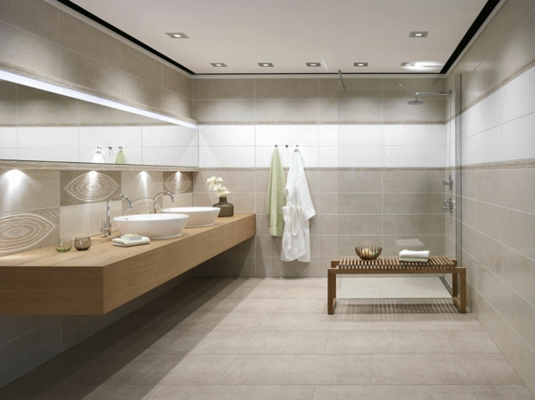 Best Photo Salle De Bain Moderne Blanche Gallery - House Design ...