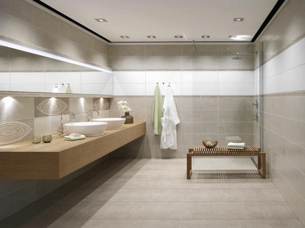 Salle de bain et d co minimaliste 117 photos uniques for Bois dans salle de bain