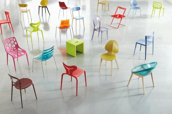 La chaise calligaris praticit et style Differents styles de meubles