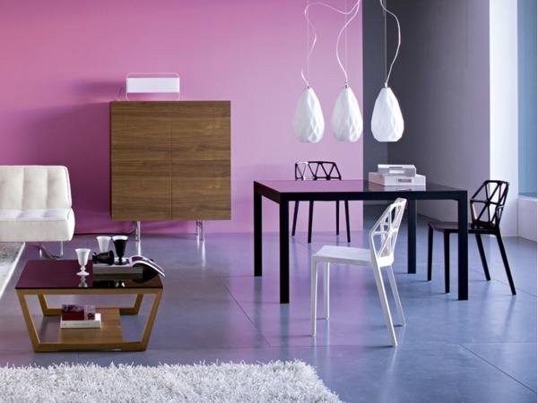 chaise-calligaris-chaises-alchemia-trois-lampes-pendantes-commode-en-bois