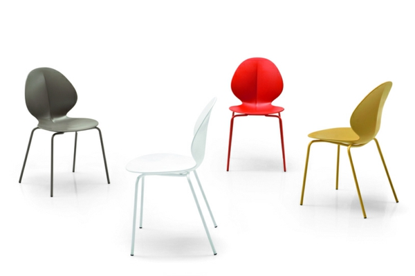 chaise-calligaris-chaises-multicolores