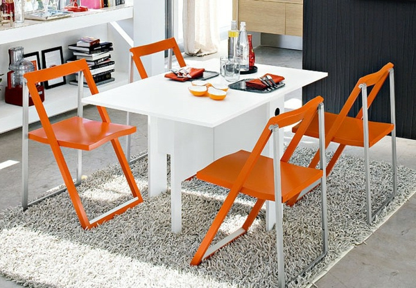 chaise-calligaris-chaises-pliantes-oranges