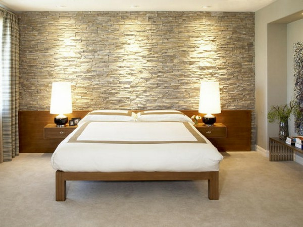 chambre-à-coucher-design-et-lit-avec-architecture-minimaliste