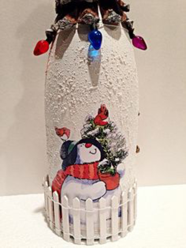 col-boteille-déoration-pour-un-cadeau--ou-pour-la-maison