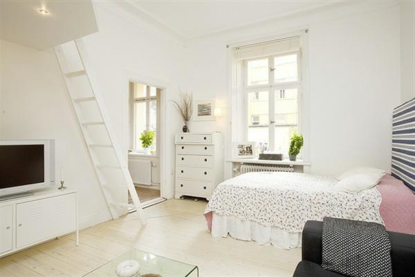 Deco kleine studio: studio artdécostil stockfoto istock. meubler un