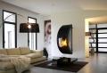L' intérieur de la maison contemporaine -salon design
