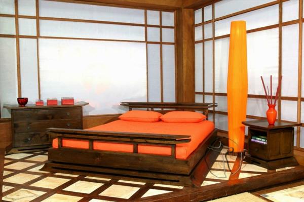 décoration-asiatique-chambre-à-coucher-inspiration-asiatique