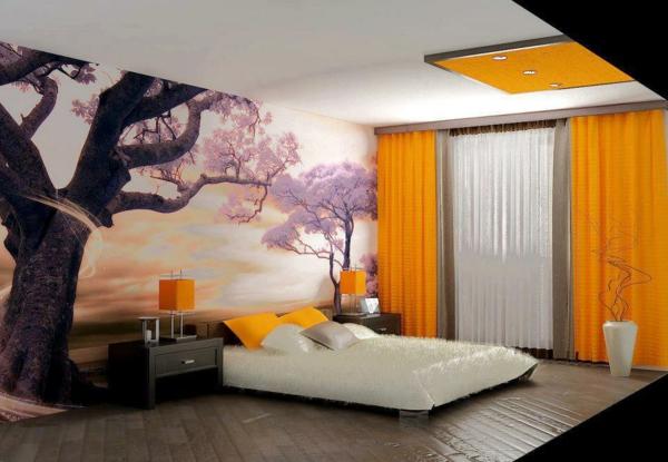 décoration-asiatique-chambre-à-coucher-japonaise