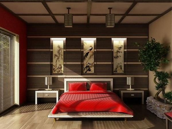 D coration chambre asiatique for Salon style asiatique
