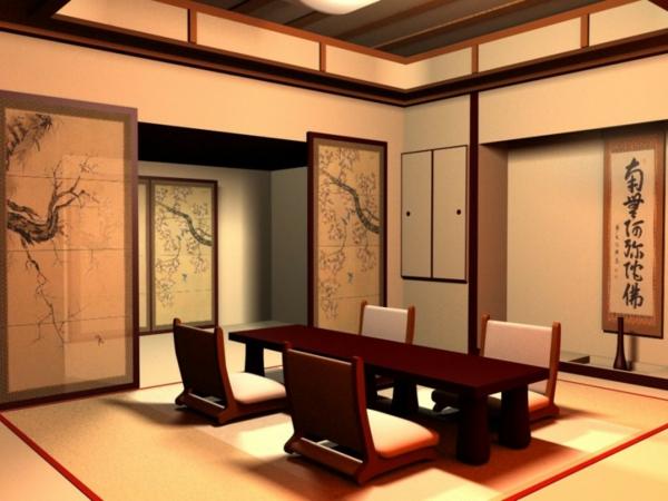 décoration,asiatique,intérieur,unique