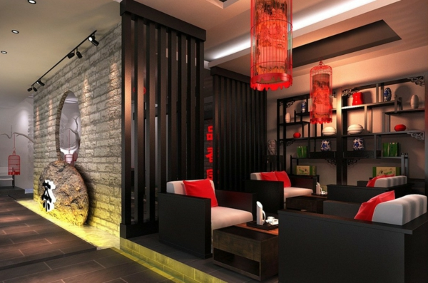 D co cuisine chinoise for Salon style asiatique