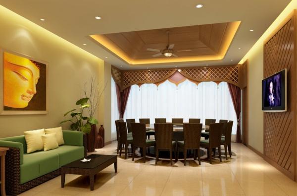décoration-asiatique-salle-de-déjeuner