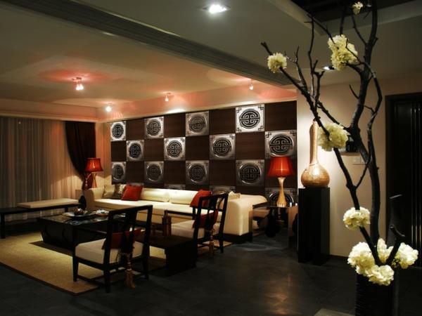 décoration-asiatique-salle-de-séjour-magnifique