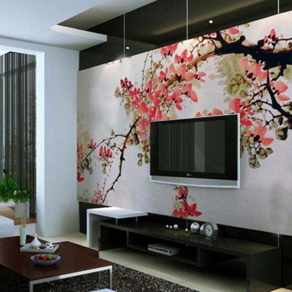 décoration-asiatique-un-arbre-fleuri
