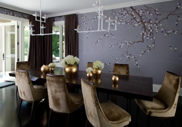 décoration-asiatique-un-arbre-sur-un-mur-bleu