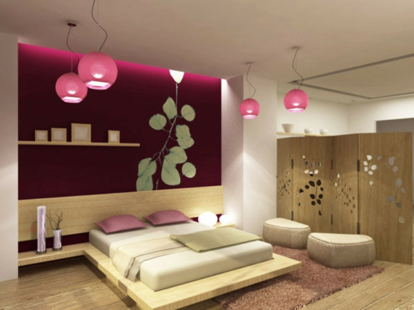 asian style bedroom, bedroom, asian style