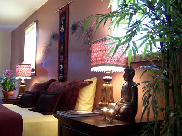 décoration-asiatique-une-chambre-à-coucher-feng-chui