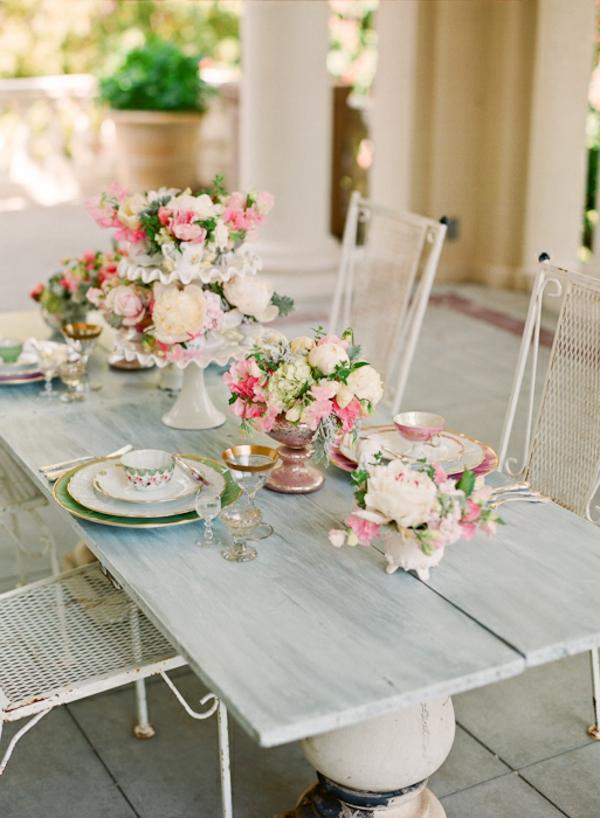 Cool id es pour vintage d co de mariage - Deco table mariage vintage ...